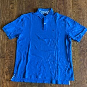Blue Tommy Hilfiger Polo